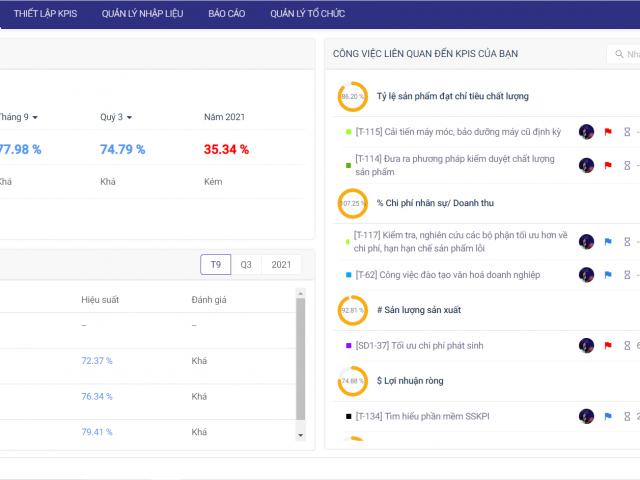 Tổng quan kết quả KPI