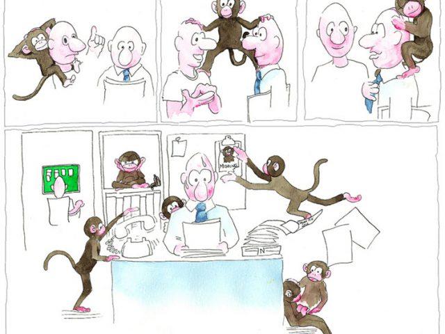 """Muốn tăng quy mô doanh nghiệp, """"con khỉ"""" của bạn cần làm gì?"""